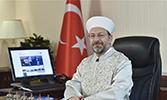 Diyanet İşleri Başkanı Erbaş'tan Hicrî Yeni Yıl Mesajı