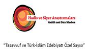 """Hadis ve Siyer Araştırmaları Dergisi'nden """"Tasavvuf ve Türk İslam Edebiyatı Özel Sayısı"""""""