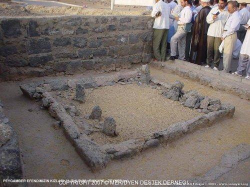 Hz. Muhammed (sav)'in kızlarının mezarları