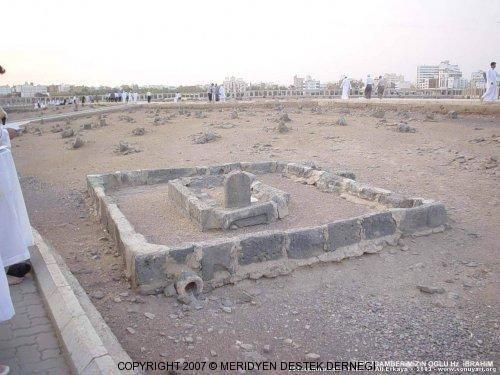 Hz. Muhammed (sav)'in oğlu İbrahim'in mezarı