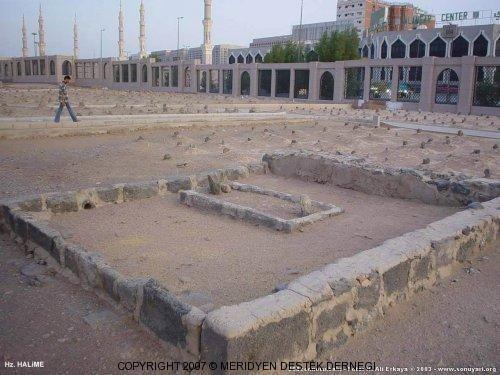 Hz. Halime'nin mezarı