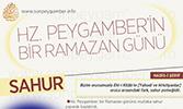 İnfografik: Hz. Peygamber'in Bir Ramazan Günü