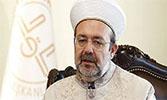 Diyanet İşleri Başkanı Mehmet Görmez'den Regaib Kandili Mesajı